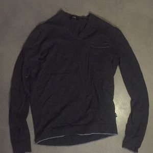Slim fit cashmere long sleeve